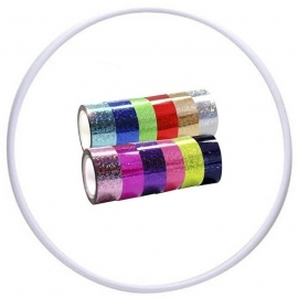 Hoop and glitter tape Pastorelli