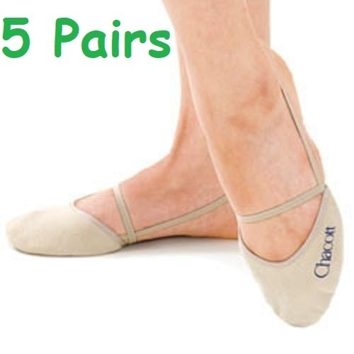 5 pairs Washable half shoes CHACOTT