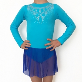 Sky blue leotard for kids BABY CHIC