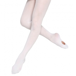 Convertible white tights