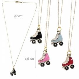 "Chain with a pendant ""Roller skates"""