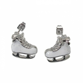 Ice skates earrings