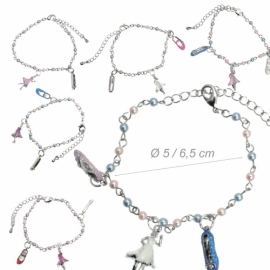 Bracelet with ballerinas and pointe shoes