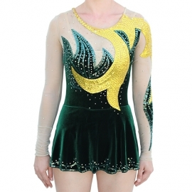Leotard model 163 Gold Leaf for rent