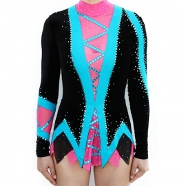 Leotard model 165 Zigzag for rent