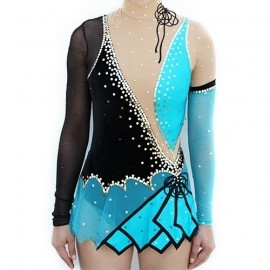Leotard model 166 Blue Tango for rent