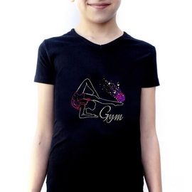 T-shirt Gymnast with a ball