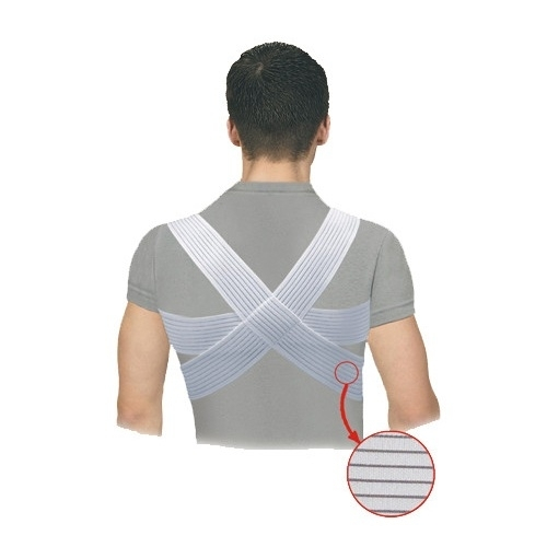 Posture corrector with traversing panels