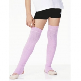Long junior leg warmers with foot SASAKI