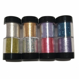 2 colors glitter for body and hair