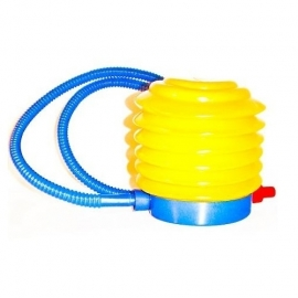 Air pump for fitball