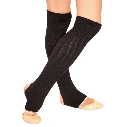 Leg warmers with foot